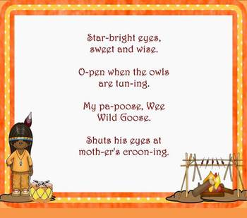 Cherokee Cradle Song: Song to Practice New Rhythm Ta-a - PPT Edition