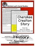 Cherokee Creation Story Native American Document Analysis Activity