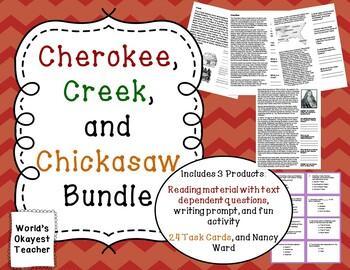 Cherokee, Creek, and Chickasaw Bundle