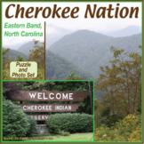 Cherokee Nation (Eastern Band) Two-Page Activity Set