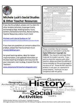 Cherokee Nation v Georgia Supreme Court Case Document Analysis Activity