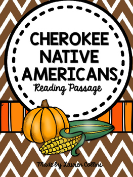 Cherokee Native American Reading Passages