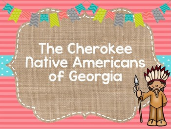 Cherokee Native Americans PowerPoint Presentation