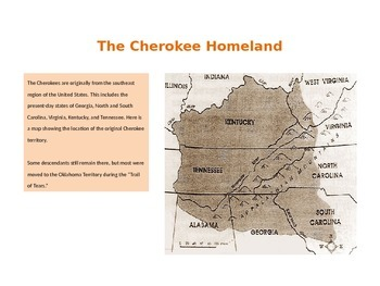 Cherokee People - The Trail of Tears - REVISED
