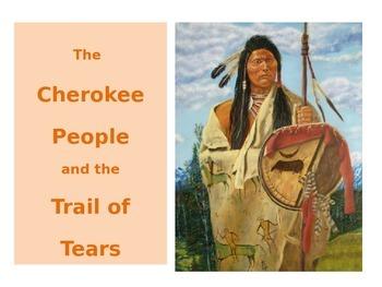 Cherokee People - The Trail of Tears - REVISED
