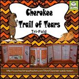 Cherokee Trail of Tears Tri-fold