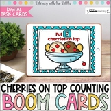 Cherries on Top Counting BOOM Cards | Digital Task Cards |