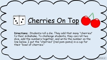 Cherries on Top (Counting and Adding)