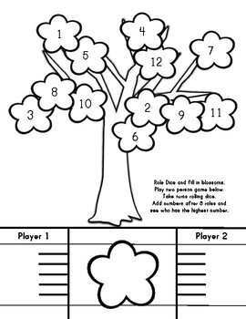Cherry Blossom Activities and Templates