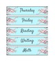Cherry Blossom Classroom Labels