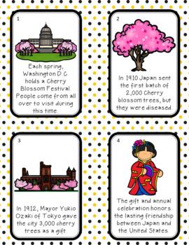 Cherry Blossom Festival Scavenger Hunt