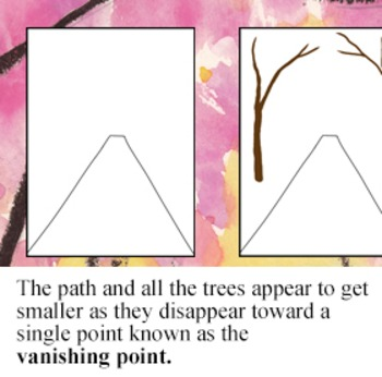 Cherry Blossom Path In Perspective