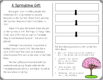 Cherry Blossom Sequencing FREEBIE