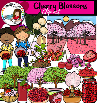 Cherry Blossoms clip art