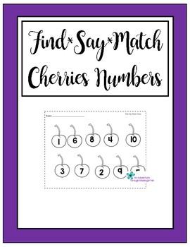 Cherry Numbers 1-10