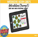 Cherry-O Boom Card Game for Articulation with Spinner