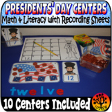 President's Day Centers Activities Cherry Tree Counting Ge