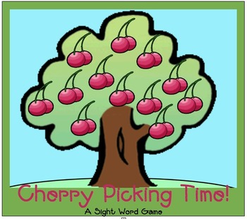 Cherry Tree Sight Word Game