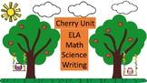 Cherry Unit: Math Science, Writing and Phonics
