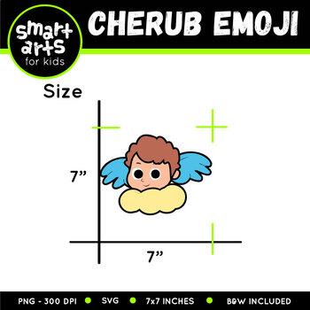 Cherub Emoji Clip Art