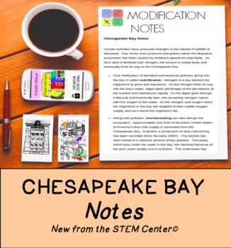 Chesapeake Bay Notes
