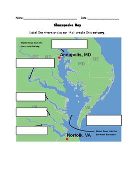 Chesapeake Water Flow Cut and Paste