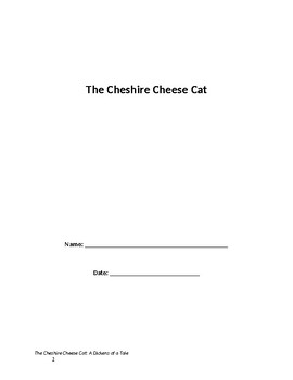 Cheshire Cheese Cat Guided Reading resource