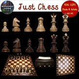 Chess Clip Art Photo & Artistic Digital Stickers Just Chess