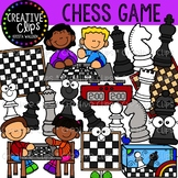 Chess Game Clipart {Creative Clips Clipart}
