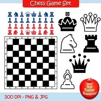 Chess Game Set Clip Art