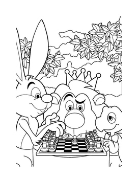Chess Kindergarten Painting