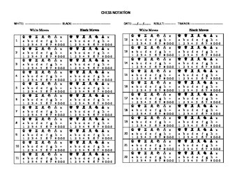 Chess Notation Learning Form