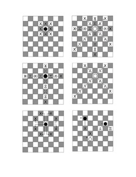Chess Piece Matching Activity - Cut and Paste