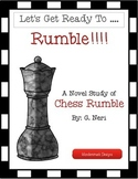Chess Rumble Novel Study Unit