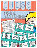 Chess Tips and Matching Game