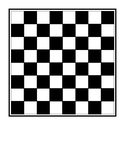 Chess or Checkers Board