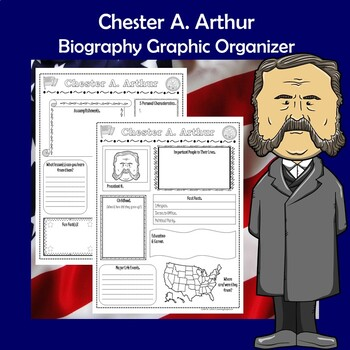 Chester A. Arthur President Biography Research Graphic Organizer