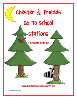 Chester & Friends Go To School Stations