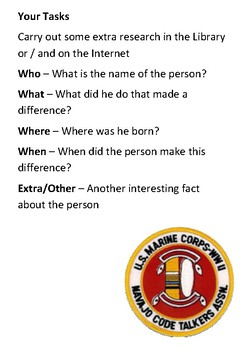 Chester Nez  - Navajo Code Talker Word Search
