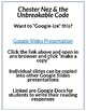 Chester Nez and the Unbreakable Code Lesson Plan & Google Activities