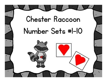 Chester Raccoon Number Sets #1 - 10