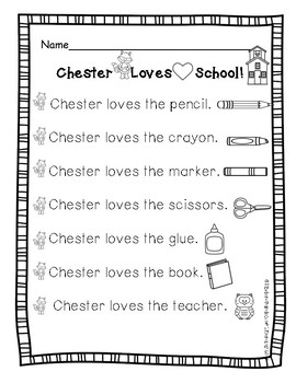 Reading Chester Raccoon-The Kissing Hand