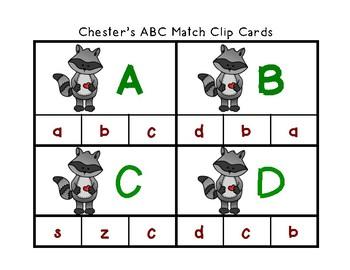 Chester Raccoon Theme Literacy and Math Center Activities; Fine Motor & Sensory