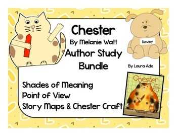 Chester by Melanie Watt Bundle Point of View, Shades of Meaning & Craft
