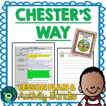 Chester's Way by Kevin Henkes 4-5 Day Lesson Plan and Activities
