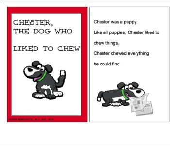 A Repetitive Storybook and Language Activities The Chewy Dog