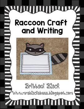 Raccoon Craft and Writing