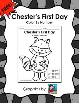 Chester's First Day - The Kissing Hand FREEBIE