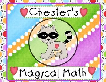 Chester's Magical Math Wheel (Kissing Hand)