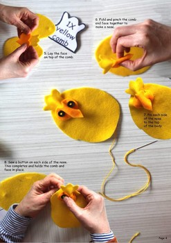 Cheston Chick pattern and instructions